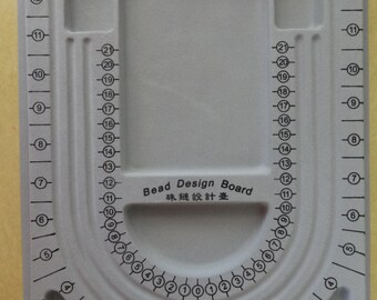 US Shipper - Jewelry Beading Board or Beading Tray Tool - Organize your Creations before stringing them together