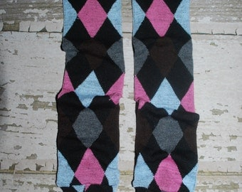 baby leggings, pink and blue, argyle, baby leg warmers, legwarmers, toddler, girl, boy, crawler covers, baby onesies, accessories, tights