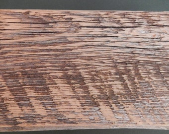 Barnwood WAVES BOX handmade from reclaimed weathered wood - rustic refined