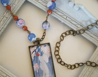 THE REDHEAD Vintage Inspired Image Necklace
