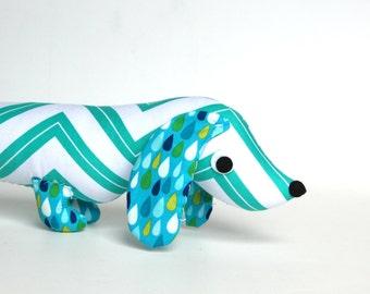 Plush Wiener Dog Stuffed Animal Doxie Dachshund Softie CORNELIUS