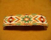 Native American Style loom beaded bracelet