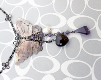 Butterfly Necklace - Kaci Corax Collection