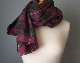 SALE Limited Supply Warm Flannel Scarf