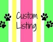 custom order for Helena