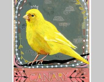 Animal Totem Print - Canary
