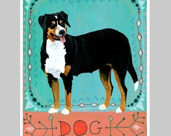 Animal Totem Print - Dog