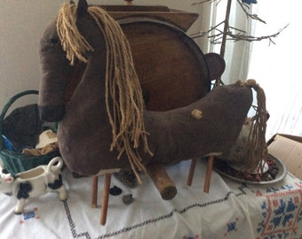 PrimitiveDoll,  Horse, Primitive Decor