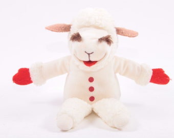 Lamb Chop's Play-Along! Shari Lewis Plush Toy 1993 ~ The Pink Room ~ 160922