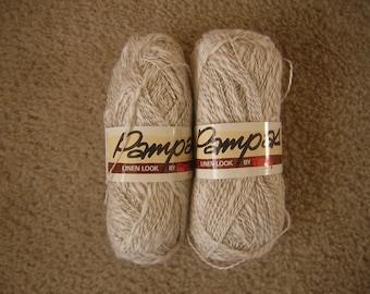 Pampas  by Wendy Yarn 2 TWO Skeins 50 g