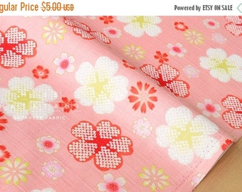 Japanese Fabric dobby cherry blossoms - pink - 50cm