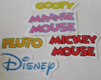 Paper Goods Mickey Mouse Die Cuts make Magical Memories w Your Child a Fun Supply