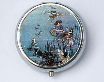 The Fairies of the Serpentine PILL CASE pillbox pill holder fairytale