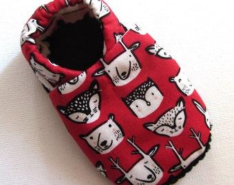 Woodlandl Soled Baby Shoes 0-6 mo