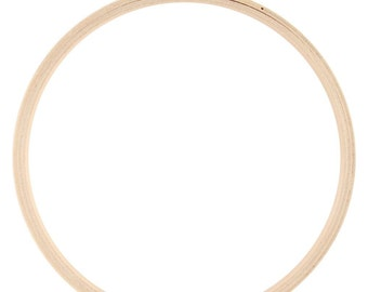 Darice - Wood Embroidery HOOP - Round Edged - 7 Inch
