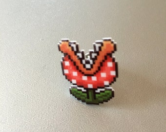 SALE piranha plant - super mario 3 pin