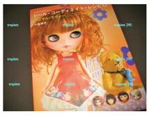 Japanese Craft Pattern Book Dolly Dolly Blythe