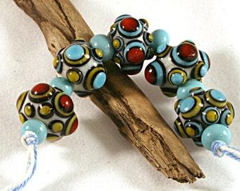 Lampwork  Art Beads by Jeanniesbeads #455