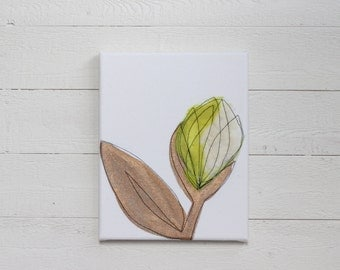 Chartreuse & Copper  - Nursery Decor