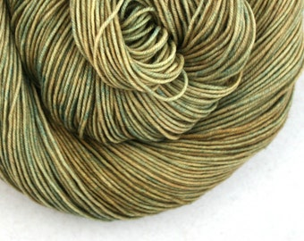 Esopus 250 Hand Painted 100% SW Merino 250 yds 2oz Frosted Moss