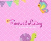 Monkey - RESERVED for Lori L