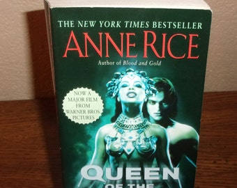 Queen of the Damned-Anne Rice-Paperback Book