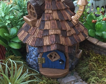 Micro Mini Shingletown Cottage Fairy House