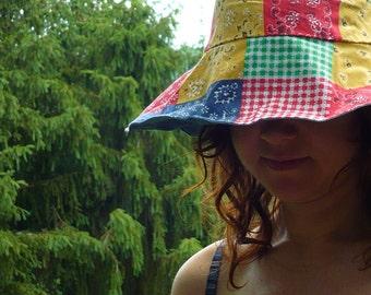 reversible sun bonnet -- made to order