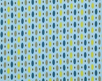 Dew Twilight - Forest - FreeSpirit Fabrics - Amy Butler - Blue Polka Dots