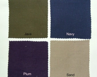 Bliss2 Fabric Samples by NikkiDesigns, Hemp, Tencel