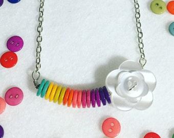 Button Necklace - ButtonCandy