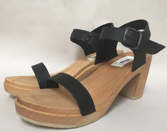 New Single strap sandal w/ buckled ankle strap Super High heel