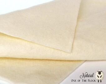 Fat Quarter, Natural Wool Felt, 100% Wool Felt, 100 Wool Felt, Wool Felt Fabric, Wool Felt Sheets, Wool Felt Squares, Natural Wool Fabric