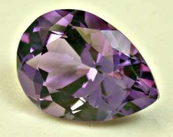 Vintage AMETHYST Loose Faceted Pear Shape Gemstone 10.15 cts fg169