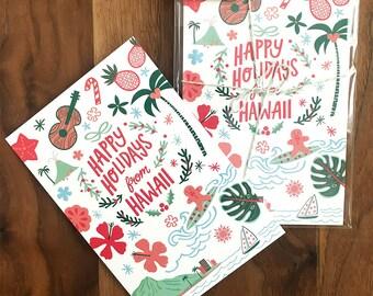 Hawaii Holiday Postcards - 8 Pack