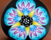 MEDIUM Polymer Clay Flower Cane -'Nebula' series (26A)