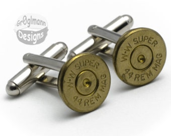 Cufflinks - Winchest 44s Bullets