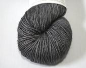 Hand Dyed Artisan Yarn, Tonal Kettle Dyed Yarn, Semisolid Yarn, SW Merino Wool, Simple SW DK, Soft Iron colorway (dyelot 81816)