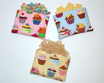 Sweet Tooth - Set of 3 Eco Friendly Reusable Snack Bags