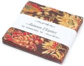 "Autumn Elegance Moda Charm Pack 42 -  5"" squares by Sentimental Studios"