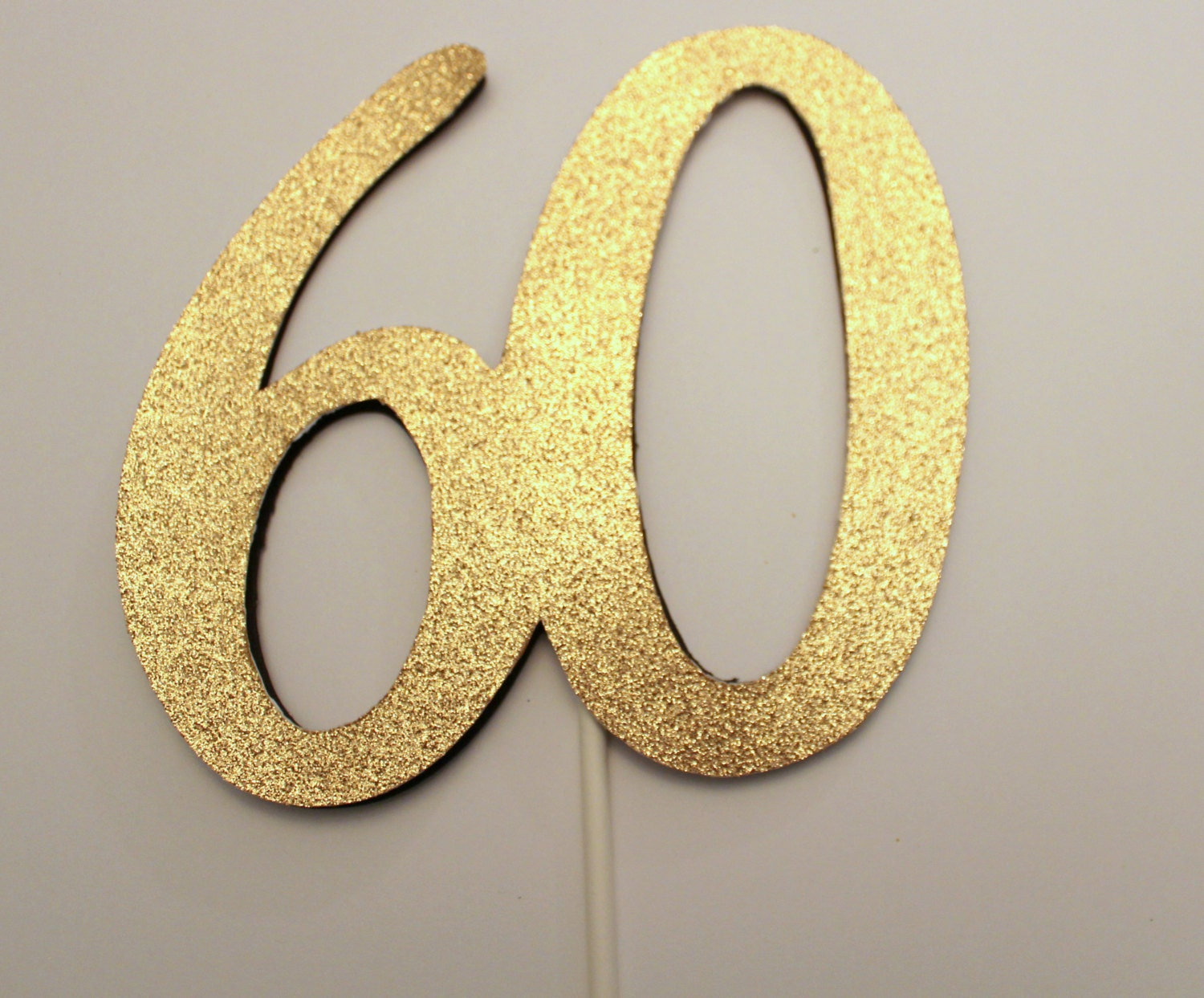 60th birthday cake topper 60 cake topper by kriskropmemories for 60th birthday decoration
