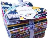 SALE 30% Off Joel Dewberry WANDER Fat Quarter Bundle 24 Precut Cotton Fabric Quilting FQs Free Spirit