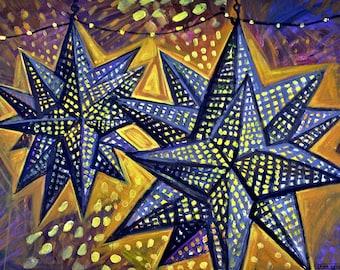 Star Lanterns - Print