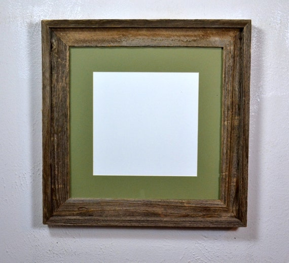 10x10 or 8x8 mat in 12x12 reclaimed wood frame. Black Bedroom Furniture Sets. Home Design Ideas