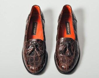 Vintage Anne Klein Tassel Loafer Shoes - US 6.5 / Europe 37 / UK 4 / AU 5