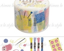 Tricot Sewing Washi Tape Aimez le style (02860)
