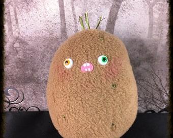 Zombie Potato Plush, Soft Toy