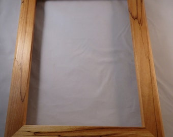 9x12 Spalted Yellow Birch Picture Frame