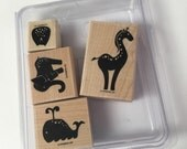 RETIRED Animal Stories Stampin' Up Stamp Set