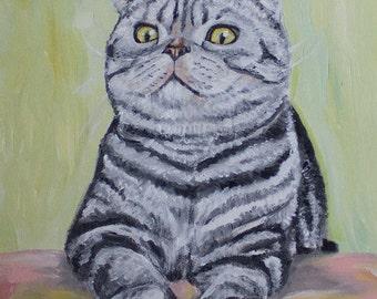 "Pet Portrait - 11""x14"" Custom Painting"